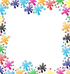 blot border vector image