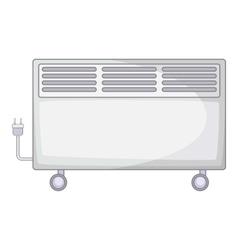 Home heater icon cartoon style vector