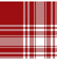 Menzies tartan red kilt fabric texture seamless vector image