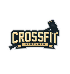 modern professional logo emblem vector image