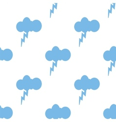 Storm seamless pattern vector image