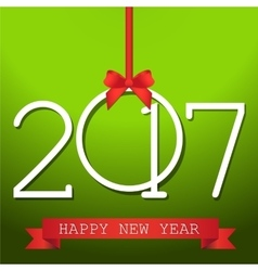 Happy New Year Background for your Flyers and vector image