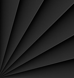 Fan background pattern vector image vector image