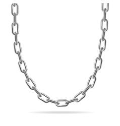 Metal Chain Jewelry vector image vector image