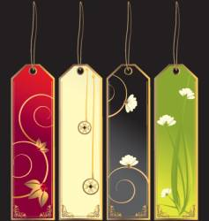 bookmarks vector image