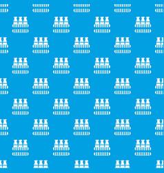 bottles milk pattern seamless blue vector image