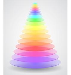Color Pyramid vector