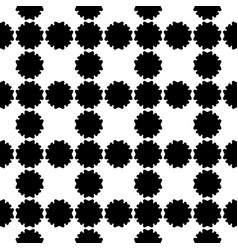 Seamless pattern simple floral geometric texture vector