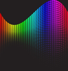 Spectrums representing rgb color space vector