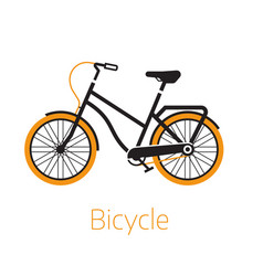 street bike icon or logo template vector image