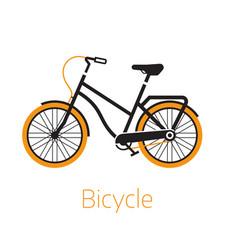 Street bike icon or logo template vector