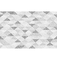 Black White Marble Triangle Pattern Background vector image