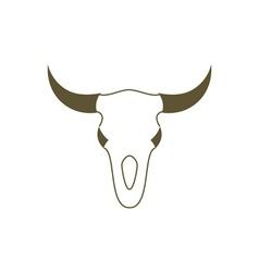 Bull-Skull-380x400 vector image