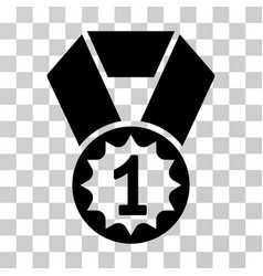 first place medal icon vector image