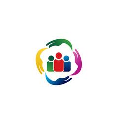 care logo vector image