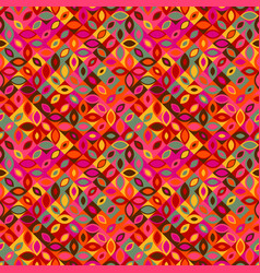 Colorful seamless curved shape pattern background vector