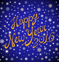 Happy New Year 2016 celebration poster banner or vector