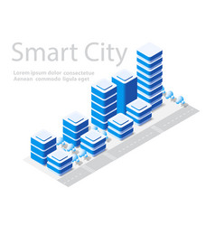 map of city on white design vector image