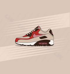Nike air max 90 bacon vector
