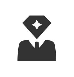 Pro member icon vector