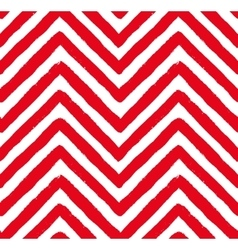 Red Chevron Seamless Pattern vector
