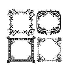 Vintage frames 3 vector