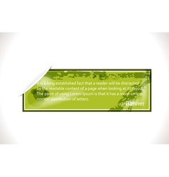 Web Banner vector image