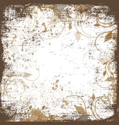 blank for vintage background vector image vector image
