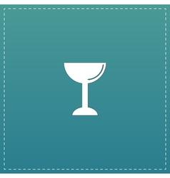 drink wineglass vector image