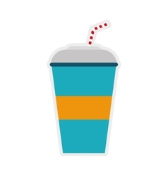 soda icon Drink design graphic vector image vector image