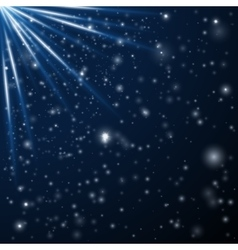 Abstract stars background vector