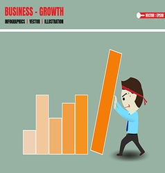 Accelerate business growth vector