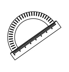 compass angle meter vector image