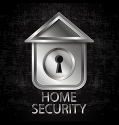 house security vector image