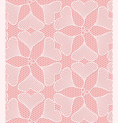 Seamless lace pattern made of heart shaped ginkgo vector