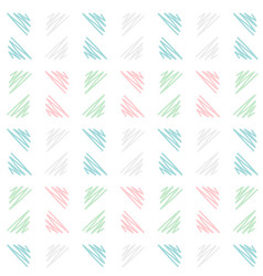 soft hand drawn triangle pattern background in vector image