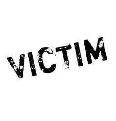 victim rubber stamp vector image