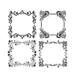Vintage frames 4 vector