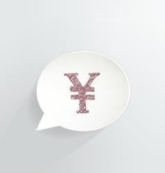 Yen vector image vector image