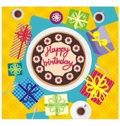 card happy birthday vector image