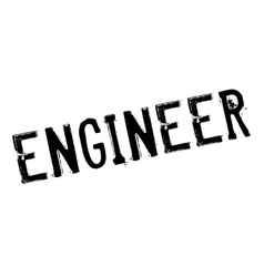 Engineer rubber stamp vector