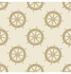 Helm vintage pattern sea naval background symbol vector