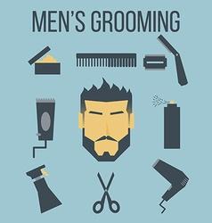 Mens Grooming vector