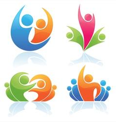 People logos vector