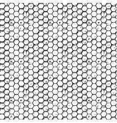 Simple honeycomb pattern vector