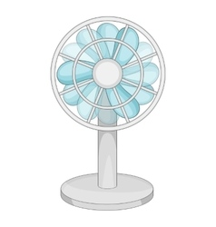 Small ventilator icon cartoon style vector