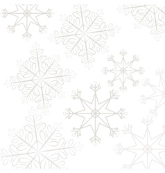 Snoflake pattern background vector