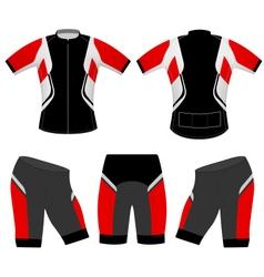 Sports t shirt vector