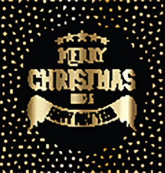 merry christmas background 0911 vector image vector image
