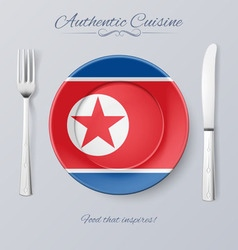 Authentic cuisine vector image vector image